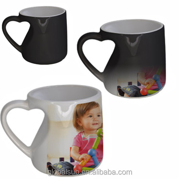 Funny Shaped Color Changing Coffee Mug High Quality