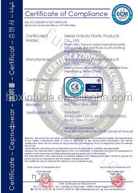 60ml seringues jetables en plastique avec certificat CE (de promotion)