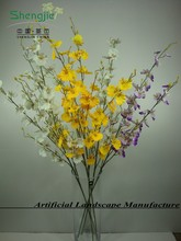 HD063 artificial dance orchid,indoor decoration flowers