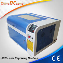 Rotary Axis Attached 50W 4060 Mini Laser Engrave Leather