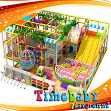 2015 New arrival school yard kids soft playground, the most cool and glaring plastic slide inflatable castle