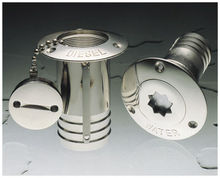 stainless steel marine keyless water deck fill for boats