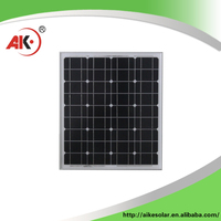 Hot china products wholesale mono 50w solar module for 30 kw solar system price in pakistan