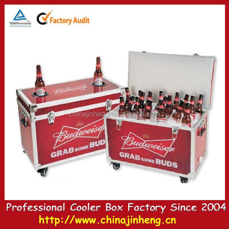 Yangdong Ewin Light Industrial Products Ltd: Metal Cooler Box Popular Ice Bucket For Food Beer Beverage