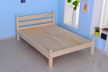wood double bed designs with box/beautiful bedroom furniture