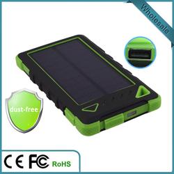 2015 high capacity dual USB 20000mah universal solar power bank for all mobile phone