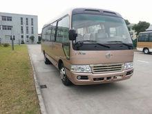 Toyota style 7m Cummins engine toyota type price Coaster bus