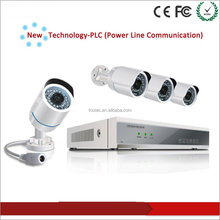 Comprar directo de fábrica fácil operación Power Line Communication cámara IP PLC NVR Kits