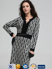 Jacquard Patterned Checked 100 Cashmere Sweater Women's