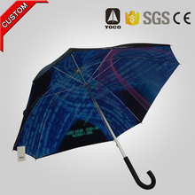 2016 innovative products personalized custom special shape golf umbrella