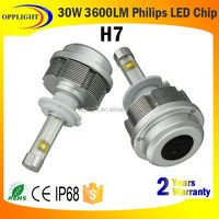 Auto parts h1 h3 h4 h7 2s moto led headlight all in one