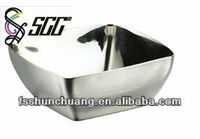 Modern Style Fashion Design Stainless Steel Mirror Square Serving Bowl/Buffet Bowls