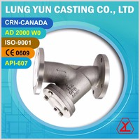 ANSI 150 300 FLANGE END STAINLESS STEEL 316 WATER MESH STRAINER