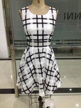 100% polyester 2015 new design hot sale chiffon dress