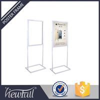 Floor Standing Display Case Poster Holder For Sale