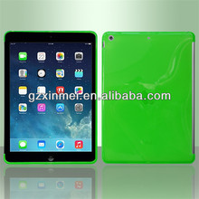 GuangZhou Wholesale for ipad silicon case , TPU case for ipad 5,