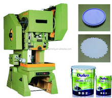 Semi-automatic Chemical Bucket Pail Square Rectangular Round Can Box End Cap Making Line Punch Press Machine