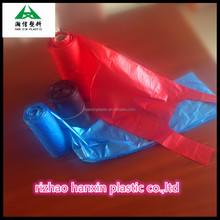 printed T-shirt bag/vest bags/singlet bags on roll