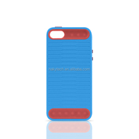 TPU+ PC Customized Designer Case hard back cover skin for iphone 5 5s 5c