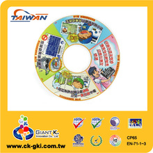 Customized fire department guide special disc shape magnet
