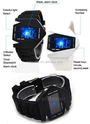 Hot sale sport watch led wristwatches digital led watches silicone strap