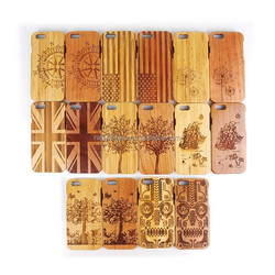 New arrival case for iphone fashion mobile phone wood case for iphone 6