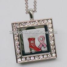 Glass Locket Necklace and Locket Bracelet/ Locket jewelry sets