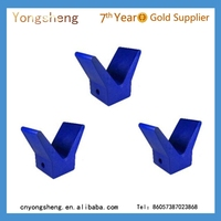 Rubber Flat Stops for Boat Trailers