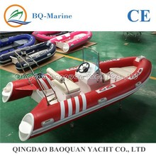 14ft 4.3m ORCA air tube fiberglass inflatable boat RIB430