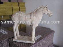 Garden decoration horses ancient terra cotta horses horses sculpture