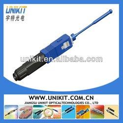 Fiber Optic splicing machine/hot melt type connector
