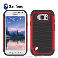Free Sample 2015 Hot sell hard plastic phone cover for galaxy s6 active G890 samsungs6 mini case