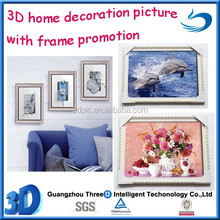 Hot sale Hight quality PET animal 3d lenticular picture