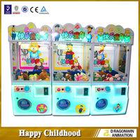 Newest crane claw machine for sale mini arcade game machine toy claw crane game machine