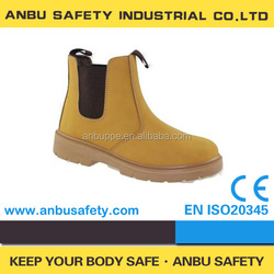 cow split leather safety rigger boots