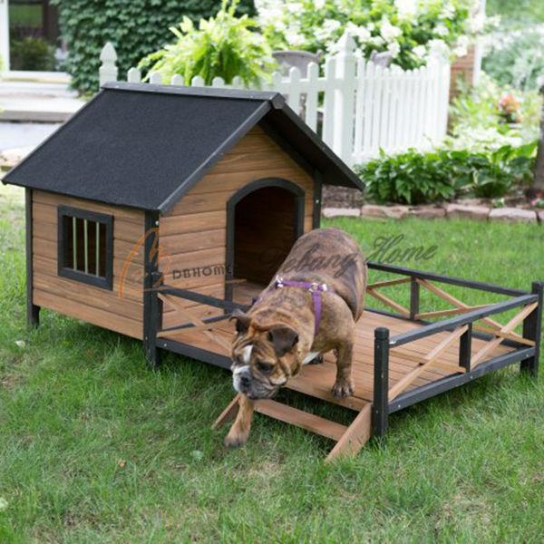 Outdoor hot sales large wooden cheap dog kennel buy dog for Cheap dog kennels for large dogs