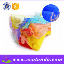 Yiwu Factory Wholesale Decorative Mesh Rolls Floral Wrapper