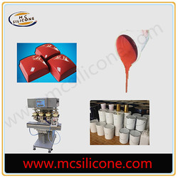 Wacker pad printing silicone rubber material