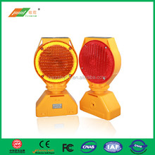 Civilized construction guide Solar barricade light