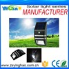 2015 hot selling solar power garden light gutter fence led