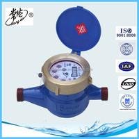 Wet type Liquid seal Rotary water meter resident cold water meter ISO4064