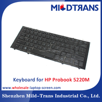 brand new original US layout keyboard for HP Probook 5220M laptop keyboard