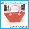 Colourful Silicone Tote Bag, Fashion Silicone Handbag For Shopping