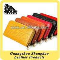 Online Shopping New Fashion Woman Leather Zipper Clutch Bag