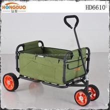 Mini foldable hand trolley aluminum folding baby bed
