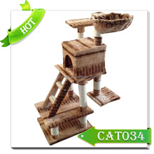 Factory Supplied Luxury Cat tower Cats Trees For Lovely Cat Pet Cages,Carriers & Houses