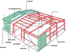 hot sale Steel Structure Prefabricated House