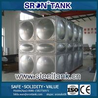 large stainless steel water containers? ISO CE SGS Certified SRON customize design your tanks