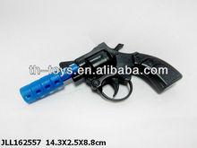 Hot pretend play toy plastic flint gun toy revolver 22 revolver
