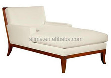 Alime custom hotel white modern lounge sofa bed for commercial hotel bedroom and living room furniture ALC620